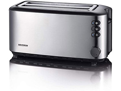 Severin Automatic 4 Slice Long Slot Toaster