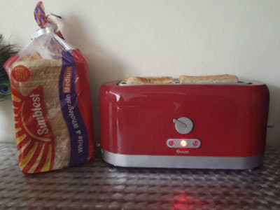 Swan 4 Slice Toaster