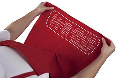 cheatsheet apron
