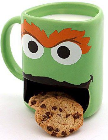 sesame street slot cookie mug