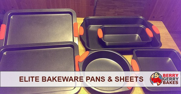 Elite Bakeware Set Review (Cake Pans, Muffin Pans, Cookie Sheets and Loaf Pan) 1