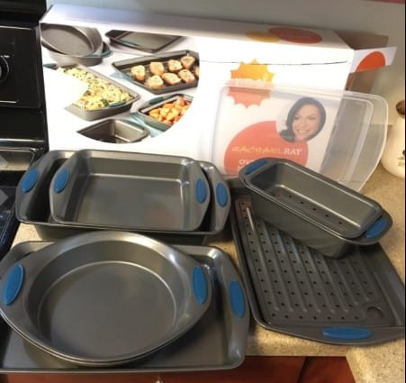 Rachel Ray Nonstick Bakeware 10 Piece Set