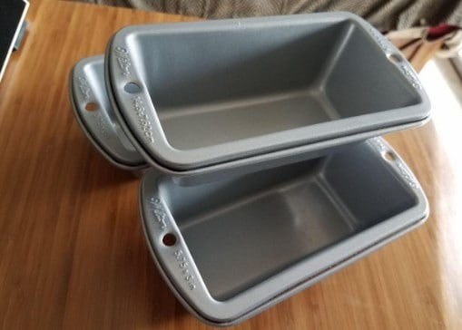 wilton 3 piece loaf pans