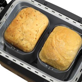 Breadman BK2000B with Dual 1-pound Baking Pans