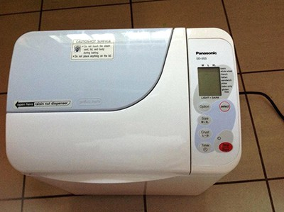 panasonic sd-rd250 bread maker