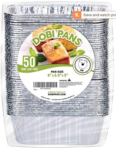 dobi mini loaf pan