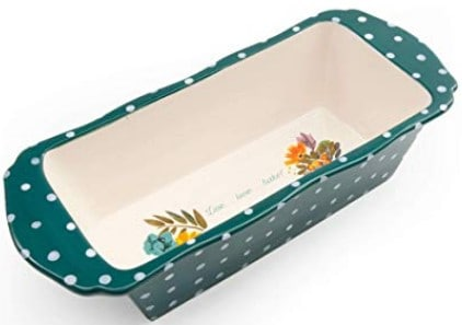 Pioneer Woman Ceramic Loaf Pan