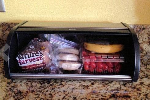 brabantia rolll top bread box