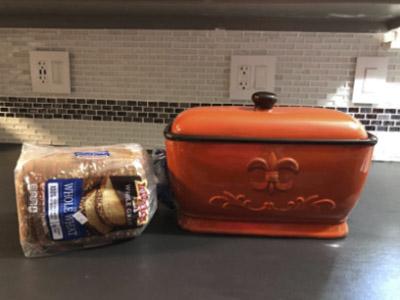 A.C.K. Trading Co. Bread Box