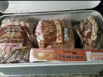 Culinary Couture Bread Box