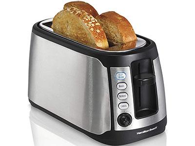 Hamilton Beach Long Slot Keep Warm Toaster