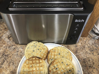IKICH 2 Long Slot Toaster