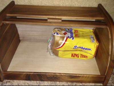 Mountain Wood Bread Box