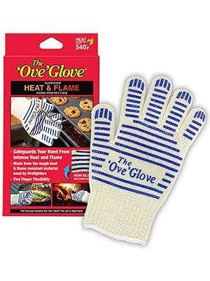 Ove Glove, Heat Resistant, Hot Surface Handler Oven Mitt