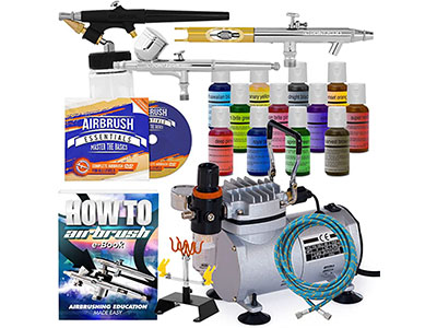 Point Zero Cake Airbrush Decorating Kit