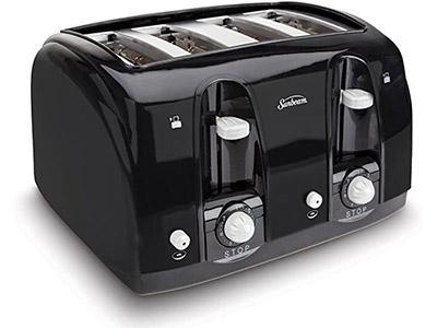 Sunbeam Wide Slot 4-Slice Toaster
