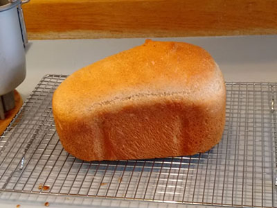 image of bread on a cooling rack