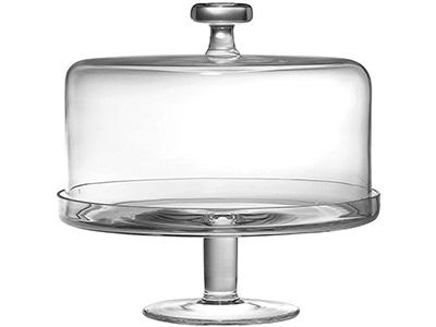 Barski Glass Cake Stand
