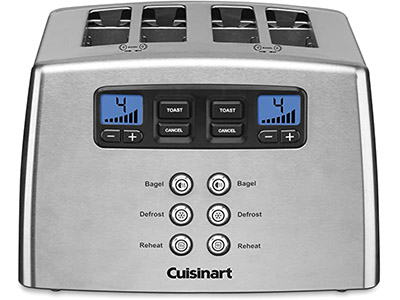 Cuisinart Countdown Leverless 4-Slice Toaster