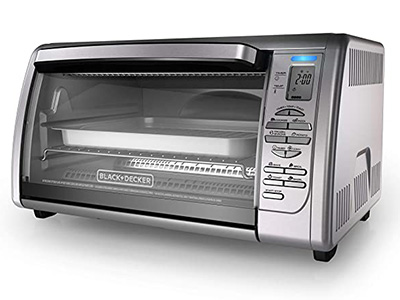 BACK + DECKER Counter Top Convection Toaster Oven CTO66335S