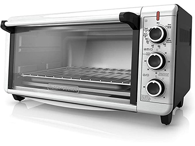 BACK + DECKER TO3240XSBD 8-Slice Extra Wide Convection Countertop Toaster Oven