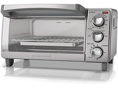 BLACK + DECKER TO1760 4-Slice Toaster Oven