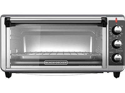 Black & Decker 8 Slice Extra Wide Toaster Oven