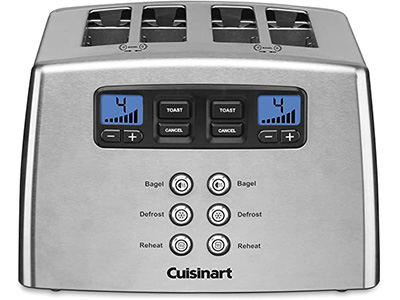 Cuisinart CPT-440 Touch to Toast Leverless 4-Slice Toaster