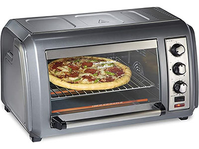 Hamliton Beach 31434 Easy Toaster Oven with Roll-Top Door