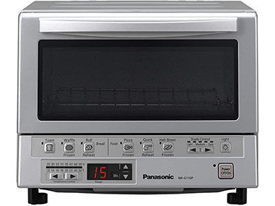 Best Toaster Oven For Frozen Foods: PANASONIC FlashXpress Compact Toaster Oven