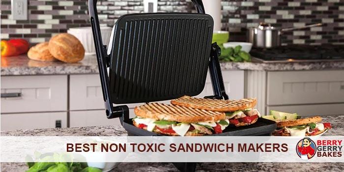 Best Non-Toxic (Teflon-Free) Sandwich Maker 1