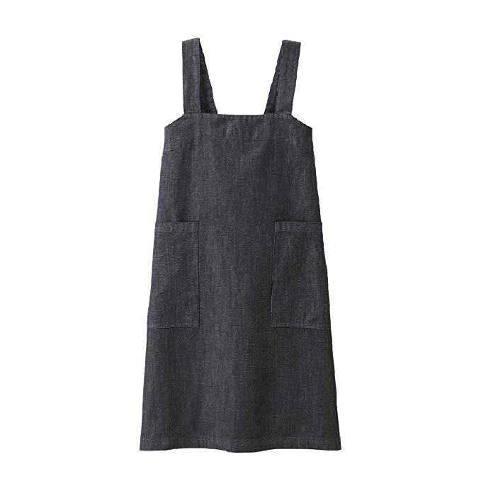 Muji Cotton Denim Cook's Aprons