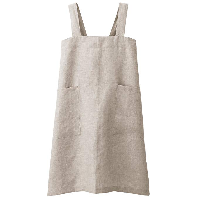 Muji Hemp Plain Weave Cook's Apron