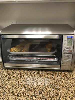 Black+Decker Stainless Steel Countertop Convection Oven