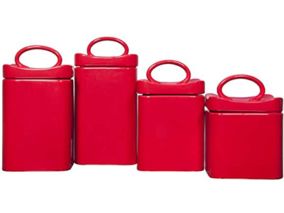Wavy Square Canisters