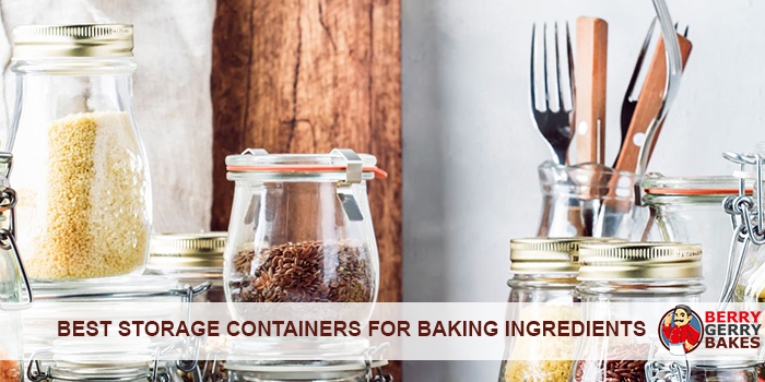 best storage containers for baking ingredients