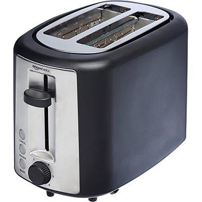 AmazonBasics 2-Slice Extra-Wide Slot Toaster