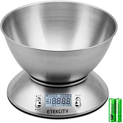 Etekcity Food Scale with Bow