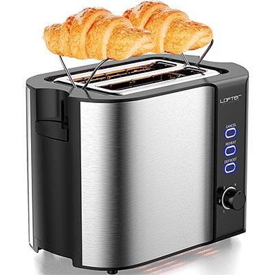 LOFTER Stainless Steel 2-Piece Toaster